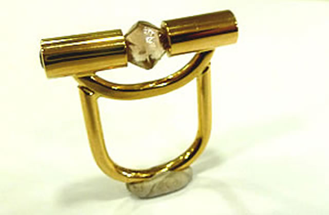 Ring Diamant-Oktaeder